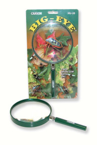2.5x (5 inch) Acrylic Hand Magnifier Outdoor Green