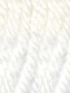 Diamond Luxury Collection White Fine Merino Superwash DK Yarn (3 - Light)