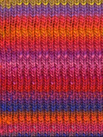Noro #102 Orange, Red, Pink, Kureyon Yarn (4 - Medium)