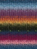 Noro #170 Blue, Pink, Orange, Green, Kureyon Yarn (4 - Medium)
