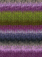 Noro #188 Green, Purple, Pink, Kureyon Yarn (4 - Medium)