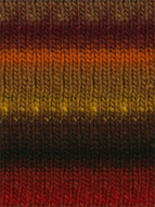 Noro #263 Red, Brown, Green, Kureyon Yarn (4 - Medium)