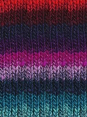 Noro #277 Purple, Blue, Red, Kureyon Yarn (4 - Medium)