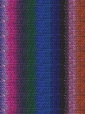 Noro #311 Blue, Green, Purple, Pink, Kureyon Yarn (4 - Medium)