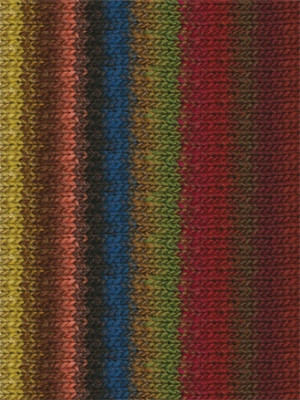 Noro #314 Brown, Green, Red, Kureyon Yarn (4 - Medium)