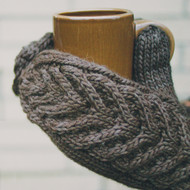 Tin Can Knits Antler Mittens Knitting Pattern