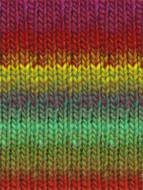 #272 Red, Purple, Green, Yellow, Kureyon Yarn (4 - Medium) by Noro