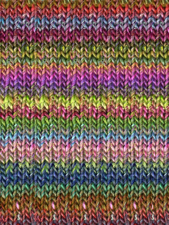Noro #87 Rainbow Silk Garden Yarn (4 - Medium)