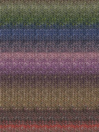 Noro #302 Orange, Lavender, Blue, Green Silk Garden Yarn (4 - Medium)