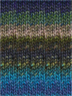 Noro #337 Blues, Greens, Pinks Silk Garden Yarn (4 - Medium)