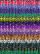 Noro #420 Purple, Grey, Green Silk Garden Yarn (4 - Medium)