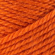 Red Heart Yarn Tangerine Soft Touch Yarn (4 - Medium)