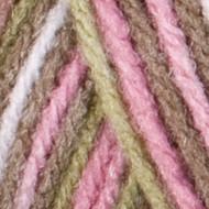 Red Heart Yarn Pink Camo Super Saver Yarn (4 - Medium)