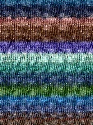 Noro #264 Tan, Greens, Blues Silk Garden Sock Yarn (1 - Super Fine)