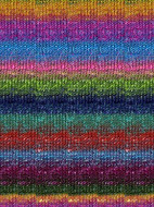 Noro #87 Turquoise, Pink, Yellow Silk Garden Sock Yarn (1 - Super Fine)