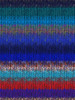 Noro #369 Blue, Red, Green Kureyon Yarn (4 - Medium)