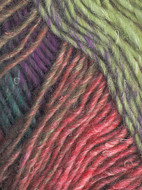 Noro #308 Moss, Teal, Purple, Red Silk Garden Yarn (4 - Medium)