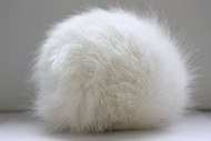 Bernat White Rabbit Faux Fur Pompom