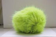 Bernat Bright Green Faux Fur Pompom