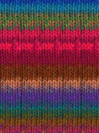 Noro #367 Pinks, Green, Blue, Brown Kureyon Yarn (4 - Medium)