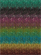 Noro #320 Blues, Teals, Bark, Raspberry Silk Garden Yarn (4 - Medium)