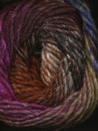 Noro #323 Rust, Brown, Pink, Blue Silk Garden Yarn (4 - Medium)