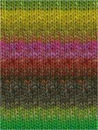 Noro #338 Lemon, Lime, Copper, Forest Silk Garden Yarn (4 - Medium)