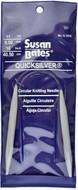 "Susan Bates Quicksilver 16"" Circular Knitting Needle (8 mm)"