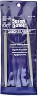 "Susan Bates Quicksilver 36"" Circular Knitting Needle (6.5 mm)"