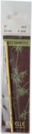 "Estelle 6"" Eco Bamboo Crochet Hook (4 mm)"
