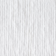 Bernat White Handicrafter Cotton Yarn - Big Ball (4 - Medium)