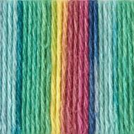 Bernat Psychedelic Ombre Handicrafter Cotton Yarn - Big Ball (4 - Medium)