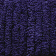 Bernat Navy Blanket Yarn - Small Ball (6 - Super Bulky)