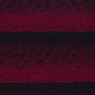 Lion Brand Cranberry/Black Scarfie Yarn (5 - Bulky)