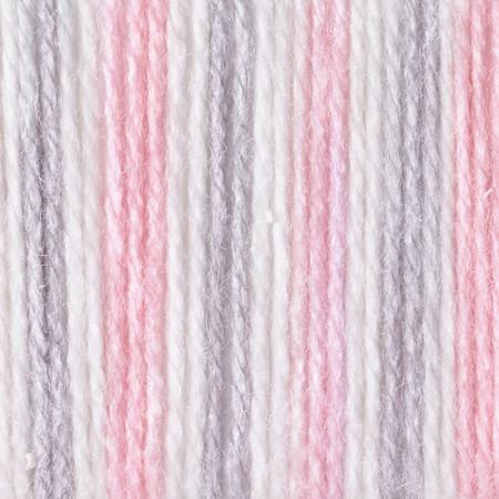 Bernat Pink Flannel Softee Baby Yarn 3 Light Free