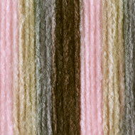 Bernat Pink Taupe Ombre Super Value Yarn (4 - Medium)