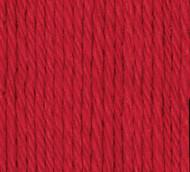 Bernat Red Handicrafter Cotton Yarn - Small Ball (4 - Medium)