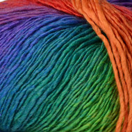 Crystal Palace Intense Rainbow Mini Mochi Yarn (1 - Super Fine)