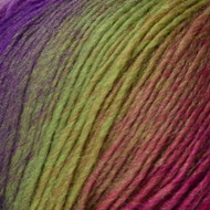 Crystal Palace Violet Rainbow Mini Mochi Yarn (1 - Super Fine)