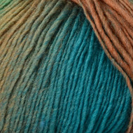 Crystal Palace Copper Turquoise Mini Mochi Yarn (1 - Super Fine)