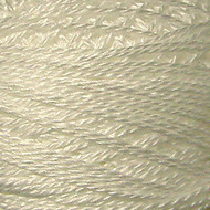 Valdani White Perle Cotton - Size 12 (Thread)