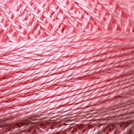 Valdani Baby Pink Medium Dark Perle Cotton - Size 12 (Thread)