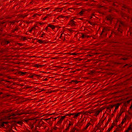 Valdani Christmas Red Perle Cotton - Size 12 (Thread)