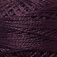 Valdani Rich Plum Perle Cotton - Size 12 (Thread)