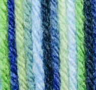 Phentex Blue Grass Ombre Worsted Yarn (4 - Medium)