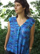 Ilga Leja Handknit Design River In Spring Shirt Pattern