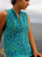 Ilga Leja Handknit Design Skin Of The Sea Shirt Pattern