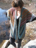 Ilga Leja Handknit Design Among The Birches Vest Pattern