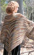 Ilga Leja Handknit Design Lady Of The Forest Wrap Pattern