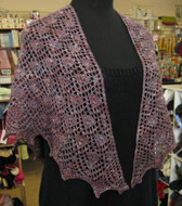 Purl Diving Patterns Soraya Shawl